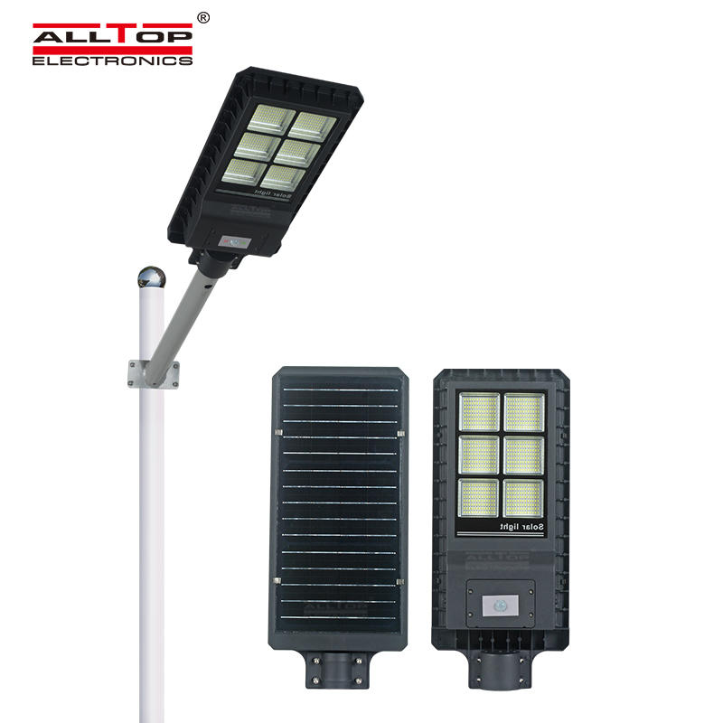 New CE Rohs approval waterproof IP65 smd 200w 300w 450w integrated all in one led solar street light