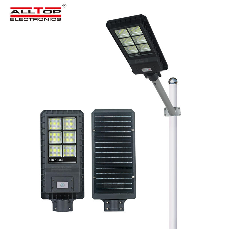 Free sample parking garden lighting outdoor waterproof 200w 300w 450w integrated led solar street light