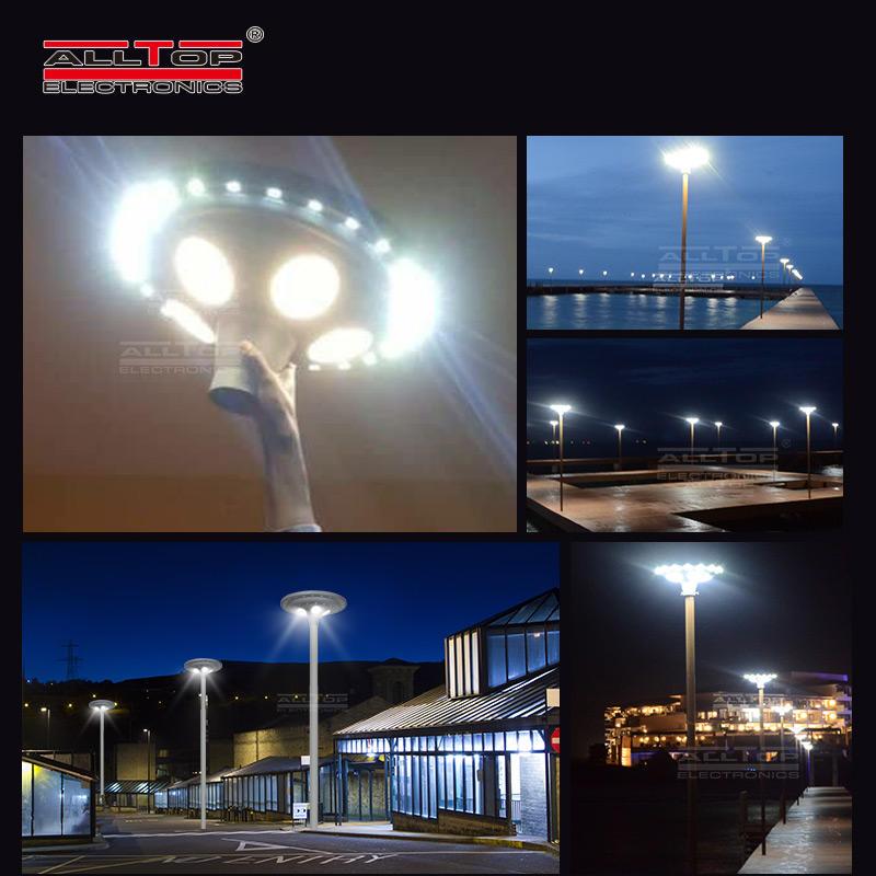 ALLTOP High quality aluminum housing road park lighting ip65 30w 60w led solar garden light
