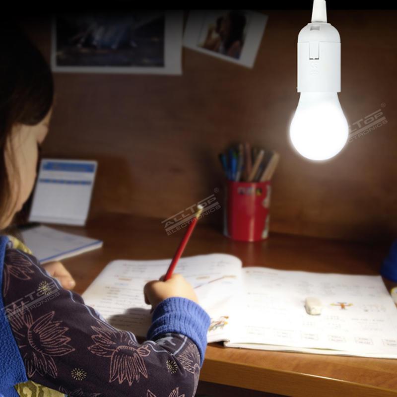 ALLTOP Outdoor Portable Solar Power Home Charging LED Lighting Solar System