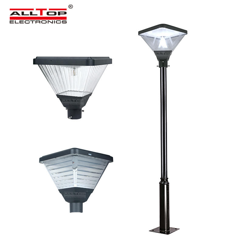 ALLTOP High quality outdoor park road lighting ip65 smd 20w led solar garden light