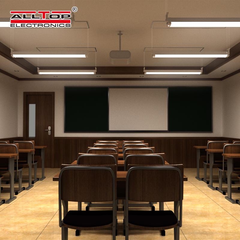 ALLTOP High quality outdoor garage lighting smd 20w 40w 60w led solar tri Proof light