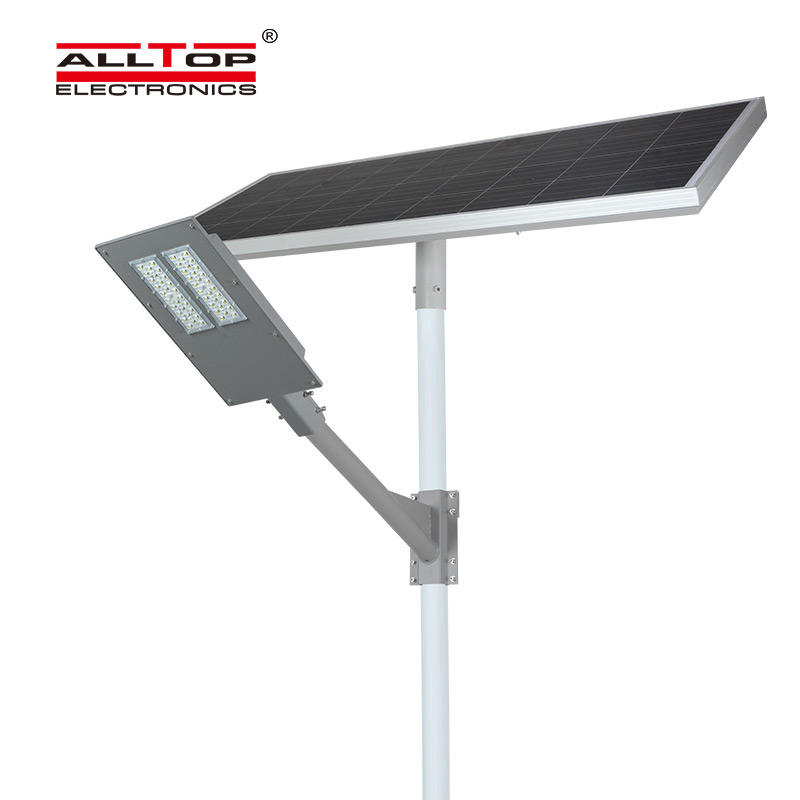 ALLTOP High quality outdoor lighting ip65 waterproof solar panel smd 90w led solar street light