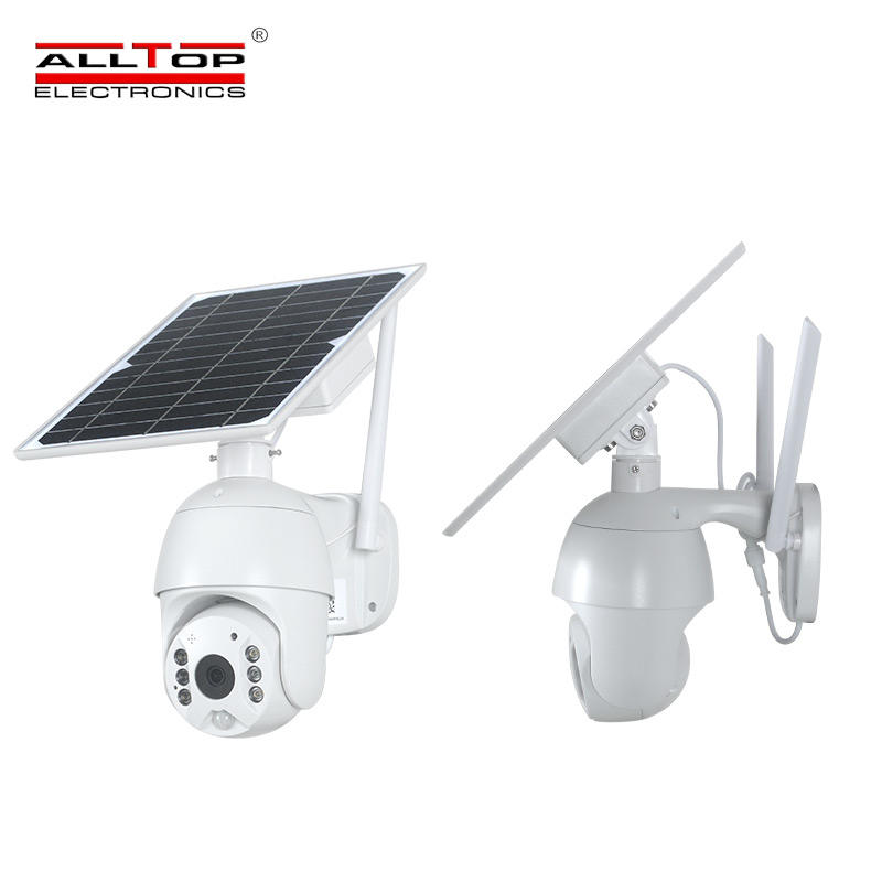 ALLTOP 4g hd ite zoom CCTV cam solar battery powered video surveillance wifi ip outdoor pir solar camera