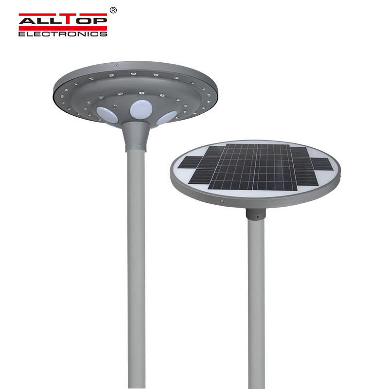 ALLTOP High quality aluminum housing road park lighting ip65 30w 60w led solar garden light