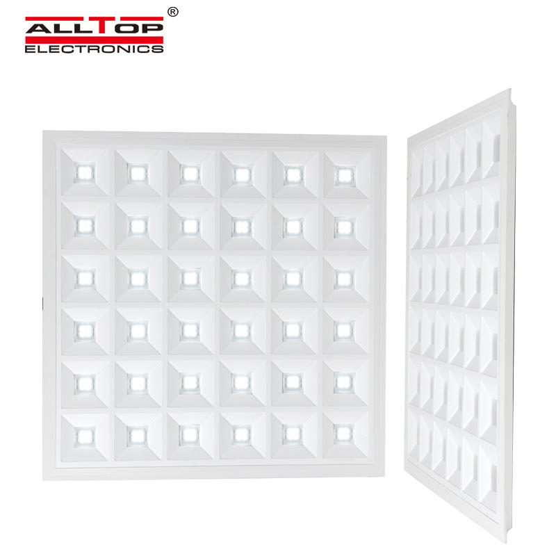 ALLTOP New design indoor Iron PET housing smd 48w recessed square led panel light
