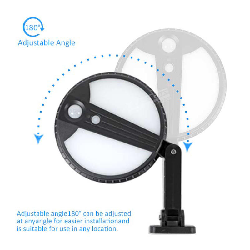 ALLTOP Super bright solar sensor ABS material 5w wall mounted solar led wall light for garden
