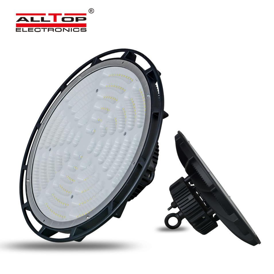 ALLTOP High quality super brightness warehouse aluminum ip65 waterproof 150w 240w led high bay light