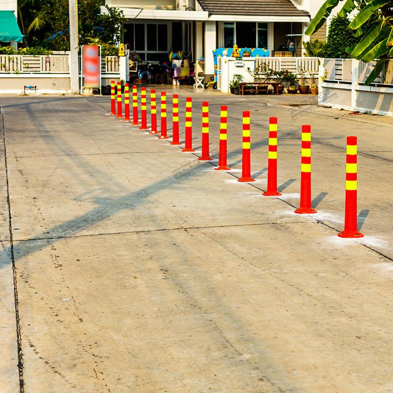 Traffic Warning Equipment Flexible bollard Traffic Delineator Post warning post