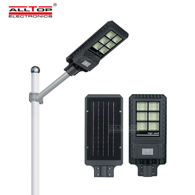 ALLTOP High lumen IP65 outdoor installation smd integrated all in one 200 300 450 watt led streetlight