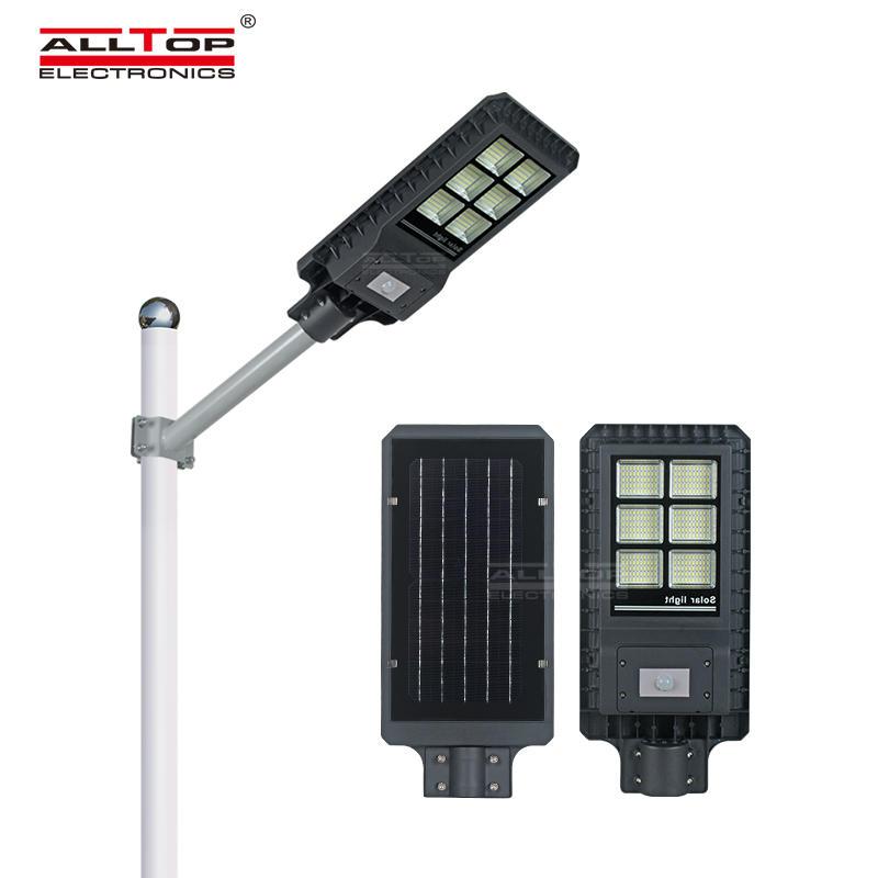 ALLTOP High lumen IP65 outdoor installation smd integrated all in one 200 300 450 watt led streetlight