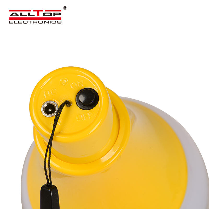 ALLTOP Rechargeable Solar Portable Lamp Solar Home Bulbs Solar Led Emergency Light