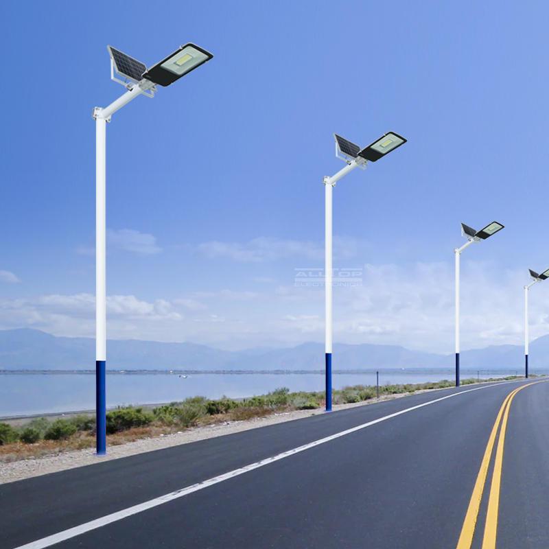 ALLTOP Bridgelux smd waterproof outdoor lighting ip65 100w solar led street light
