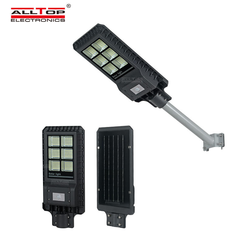 Die-casting aluminum IP65 outdoor waterproof 200 300 450 watt integrated all in one led solar street light