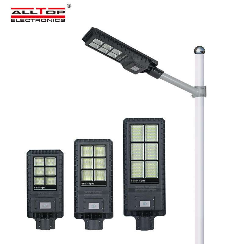Newest Arrived outdoor waterproof lighting IP65 200w 300w 450w PIR sensor integrated led solar street light