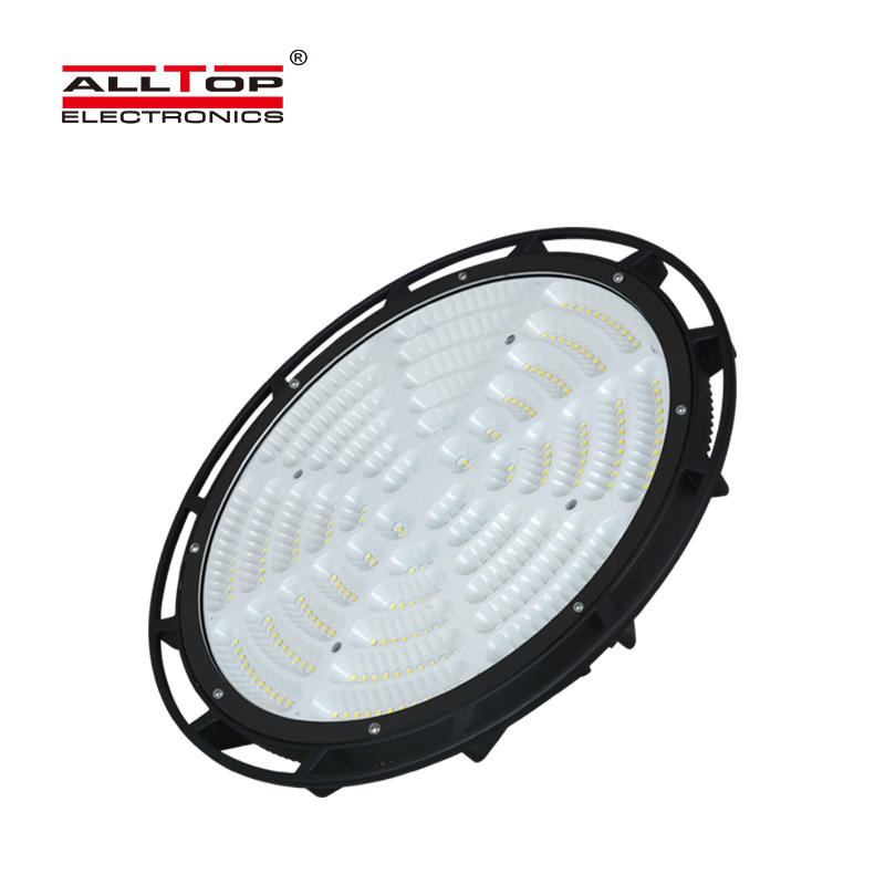 ALLTOP High quality super brightness warehouse aluminum ip65 waterproof 150w 240w led high bay light