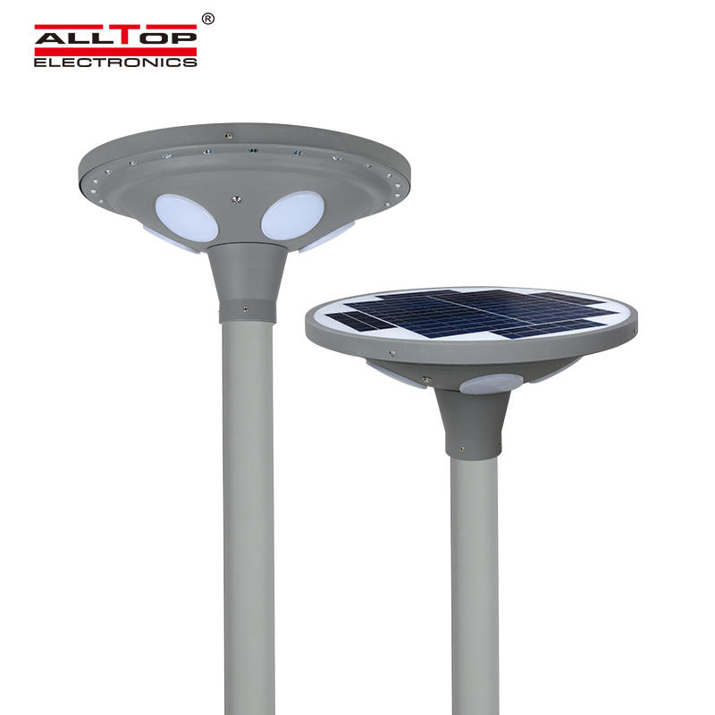 ALLTOP High brightness outdoor park road lighting ip65 smd 30w 60w led solar garden lamp