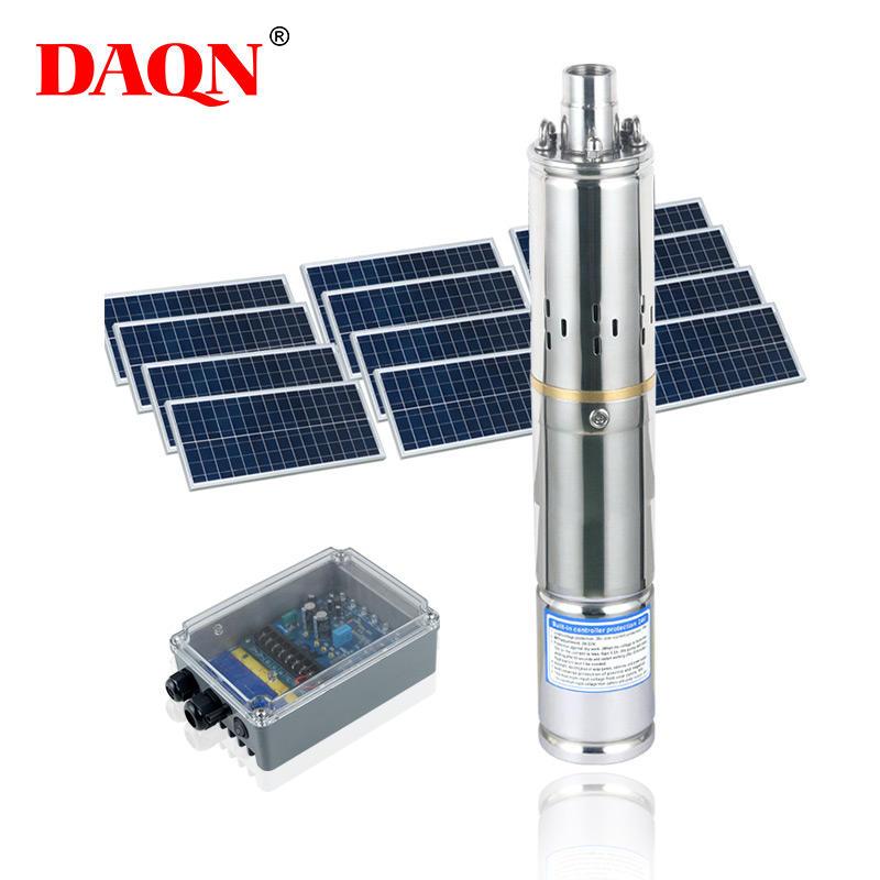 ALLTOP Energy saving mass flow solar power cropland farmland irrigation system 210 w solar water pump