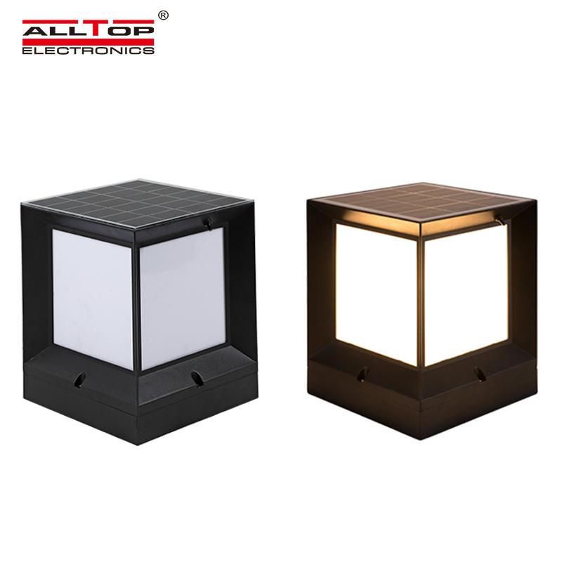 ALLTOP Super brightness double light source garden light outdoor waterproof 10w solar LED garden light
