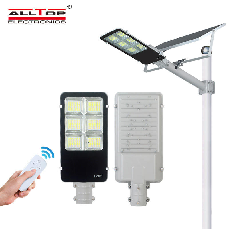 ALLTOP High lumen Bridgelux smd outdoor waterproof lighting IP65 150w integrated solar led street light