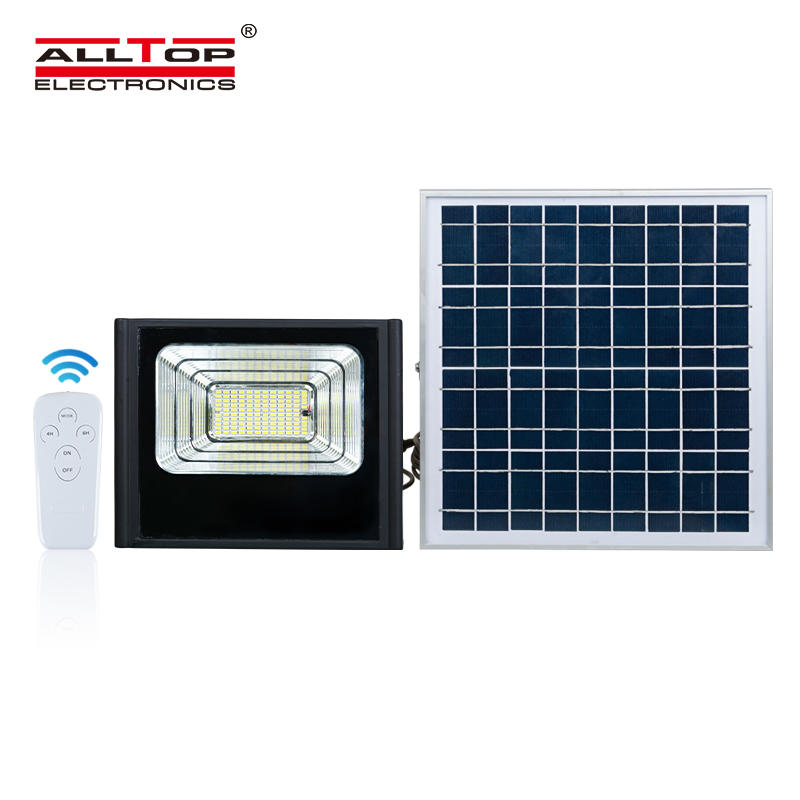 ALLTOP High power IP65 Waterproof Outdoor 50w 100w 150w 200w led solar flood light