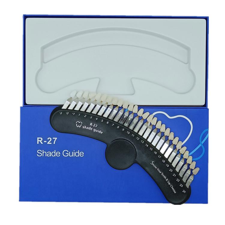 Factory price good quality teeth bleaching shade guide dental