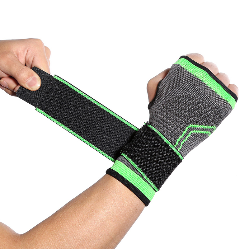 High quality Factory selling Certificate Support Pain Relief Compression Wrist Sleeves Brace for sports