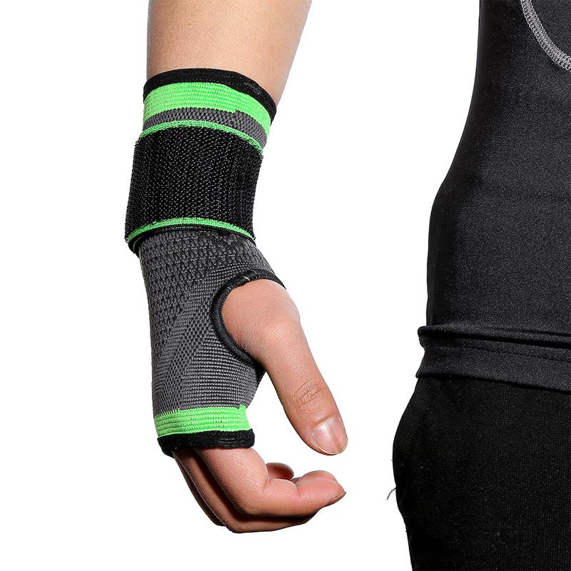 Wholesale Copper compression pain relief wrist band wrist support wrist brace