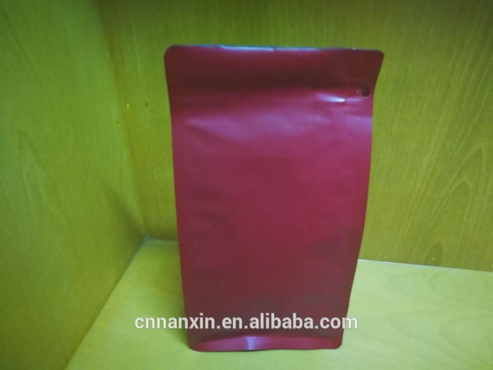 Aluminium flat bottom matt printing packaging