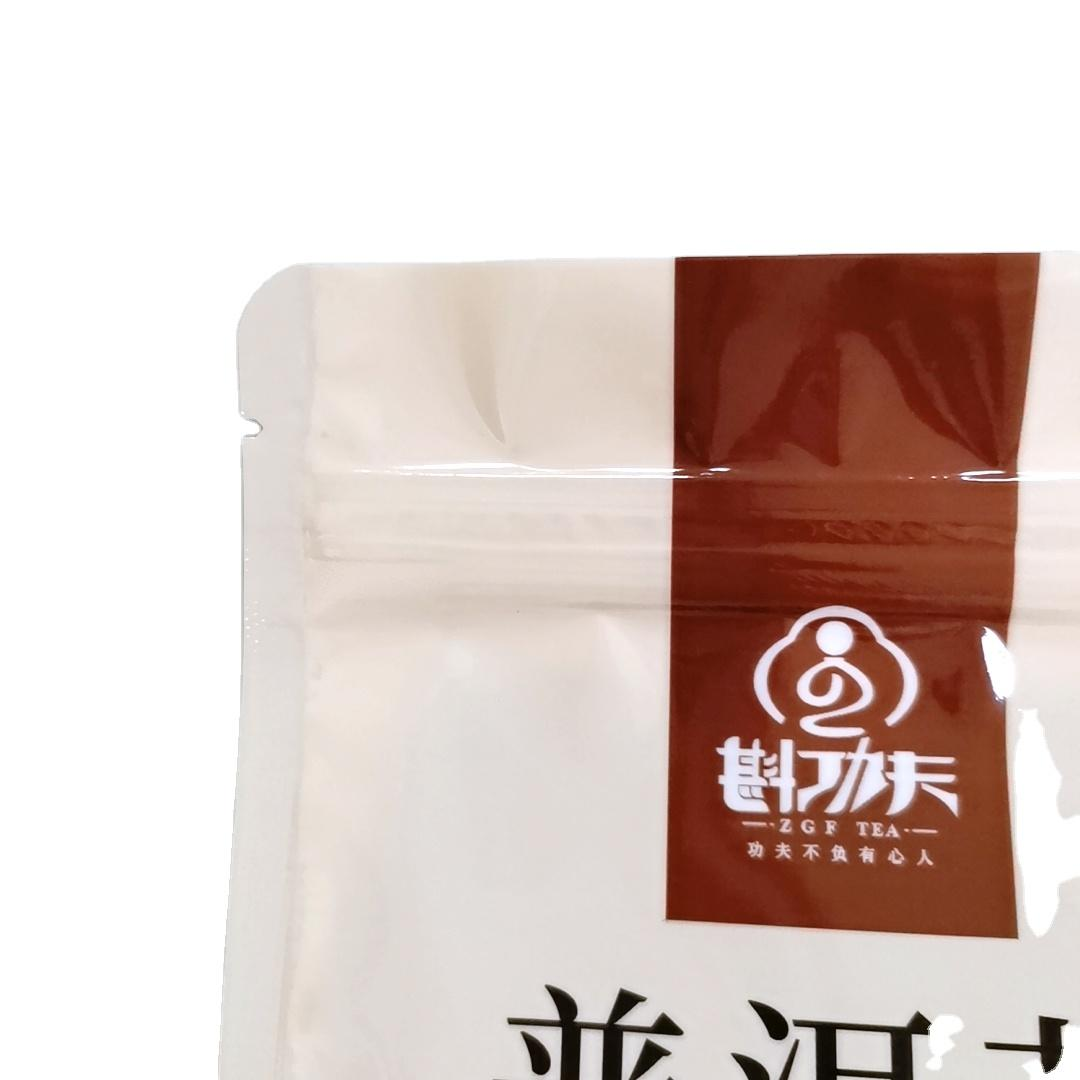 Keep Smell packaging bags with windows for Tea packing