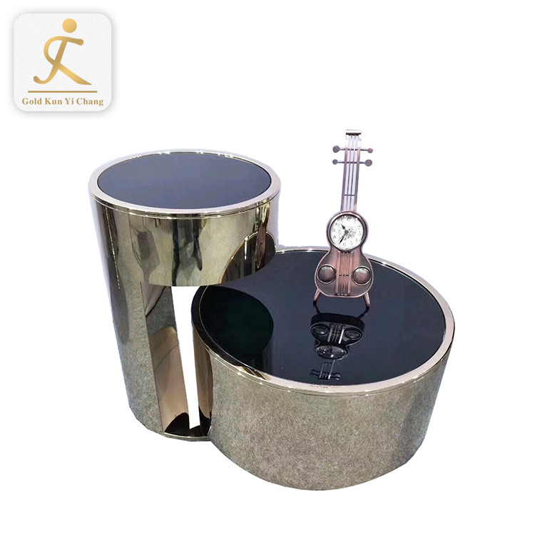 Luxury Plexiglas u shaped high-low stainless steel metal table legs knock down removable table leg