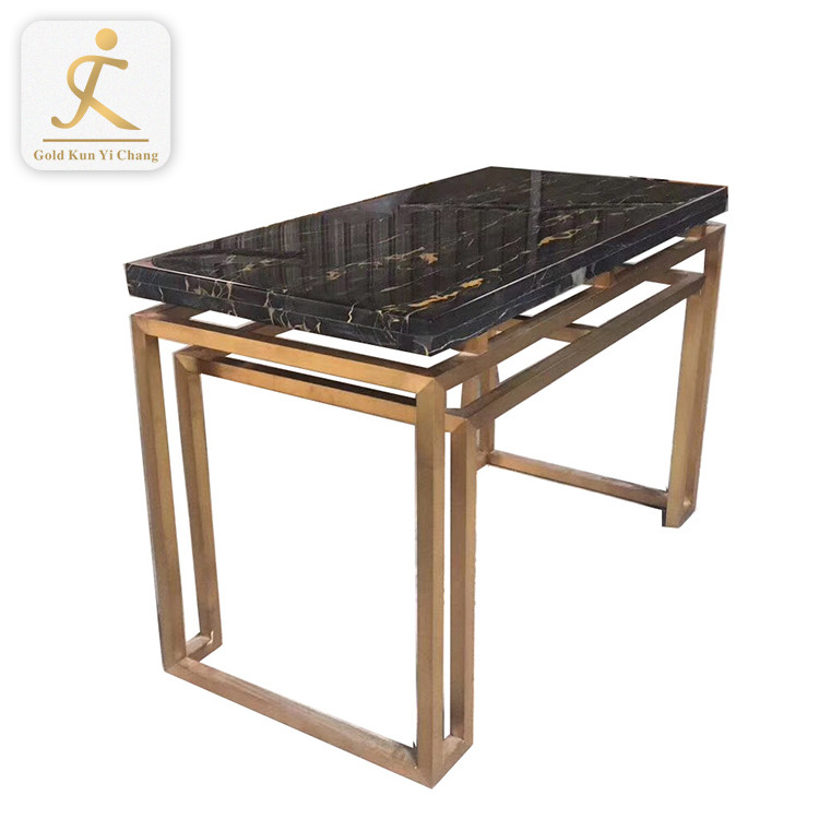 hotel home restaurant customized metal square dining table legs manufacturer furniture metal design steel tube table legs