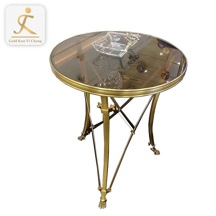 customized stainless steel glass table base outdoor cafe crossed x shaped design table leg
