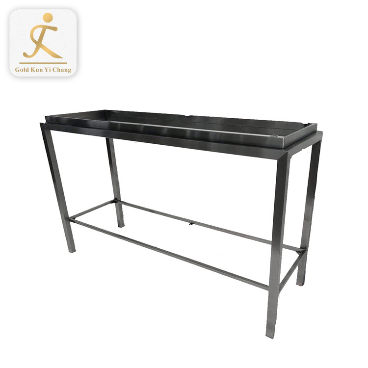 silver dining table steel legs metal garden short bistro side table legs fixing legs to glass table