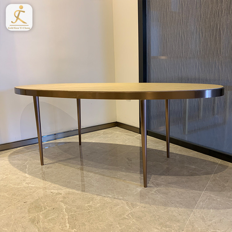 Heavy Modern Furniture Dinning Restaurant Desk Table Leg Feet Frame Metal Coffee Dining Stainless Steel Table Leg