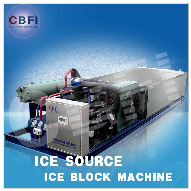1 Tons Edible Ice Block Machine with Plastic Bag