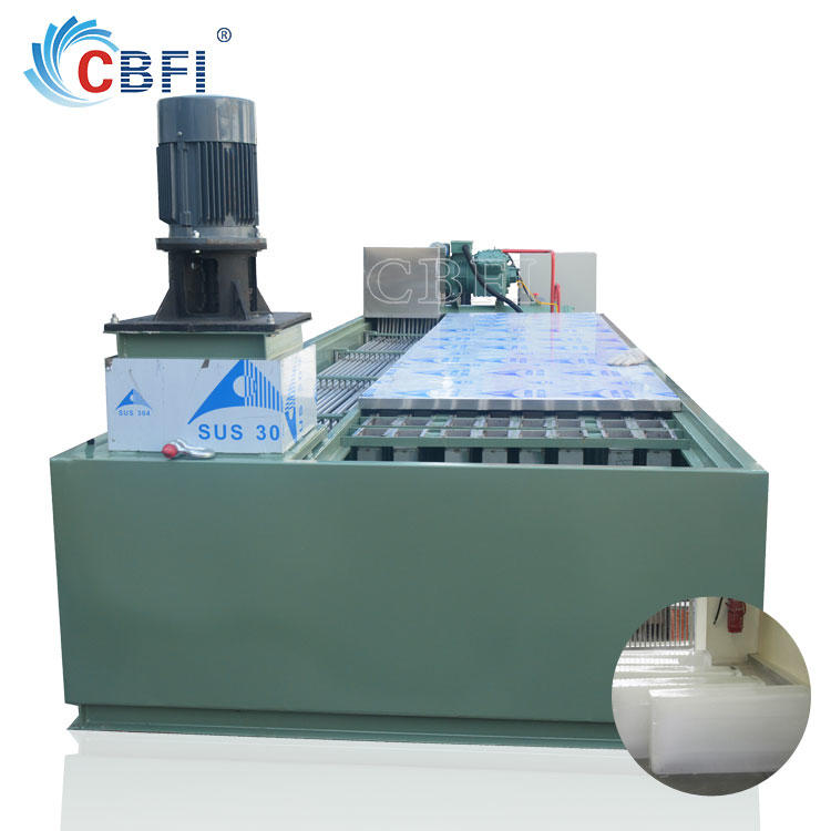 Industrial Bag Ice Machine Edible ice making machine air conditioning for Africa