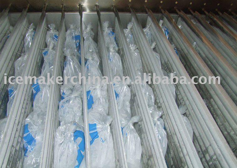Bag Block Ice Machine
