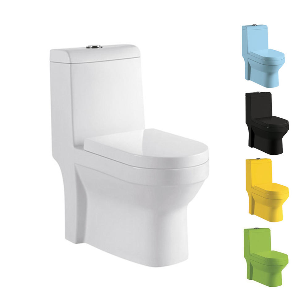 Sanitary ware bathroom ceramic colour toilet with bidet