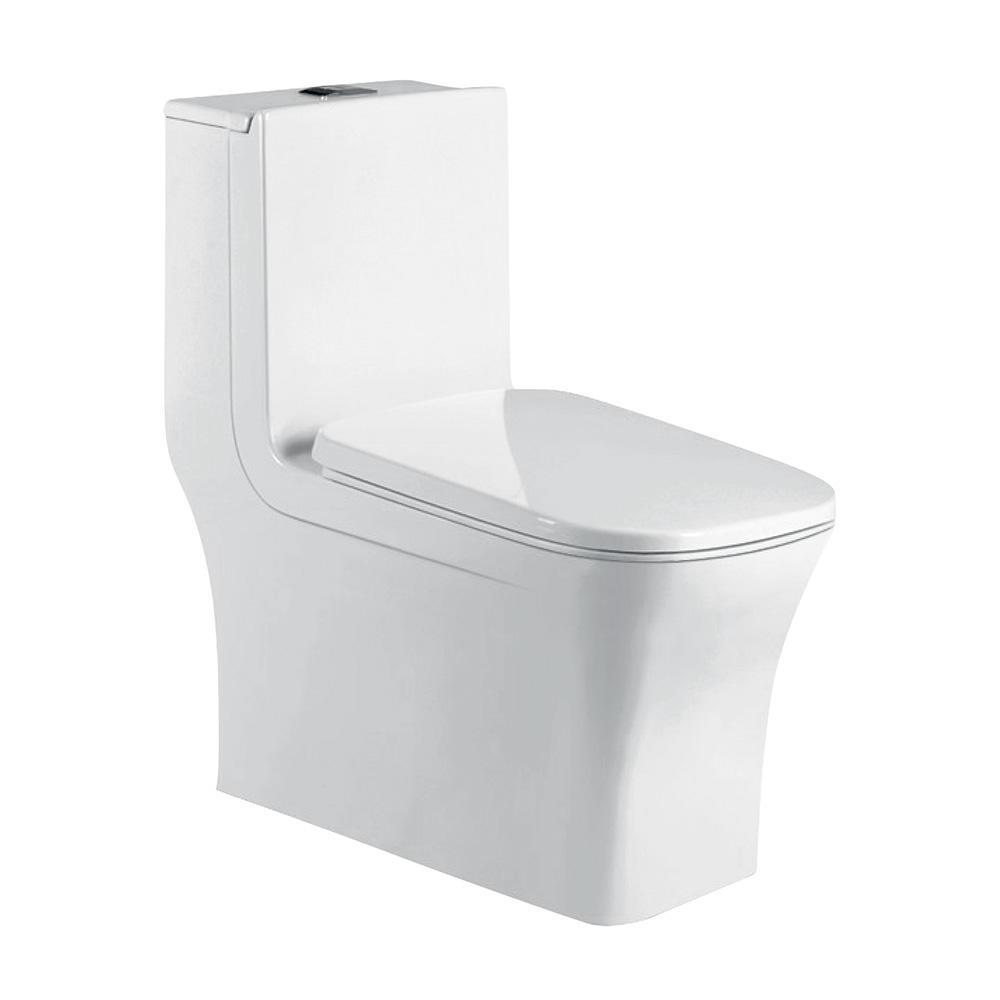 Square chinese ceramic closestool sanitary ware hotel design modern toilet