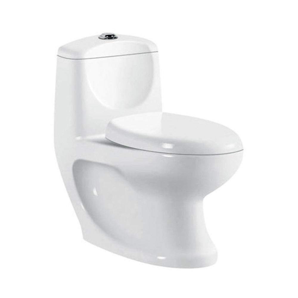 Bidet function one piece washdown porta toilet