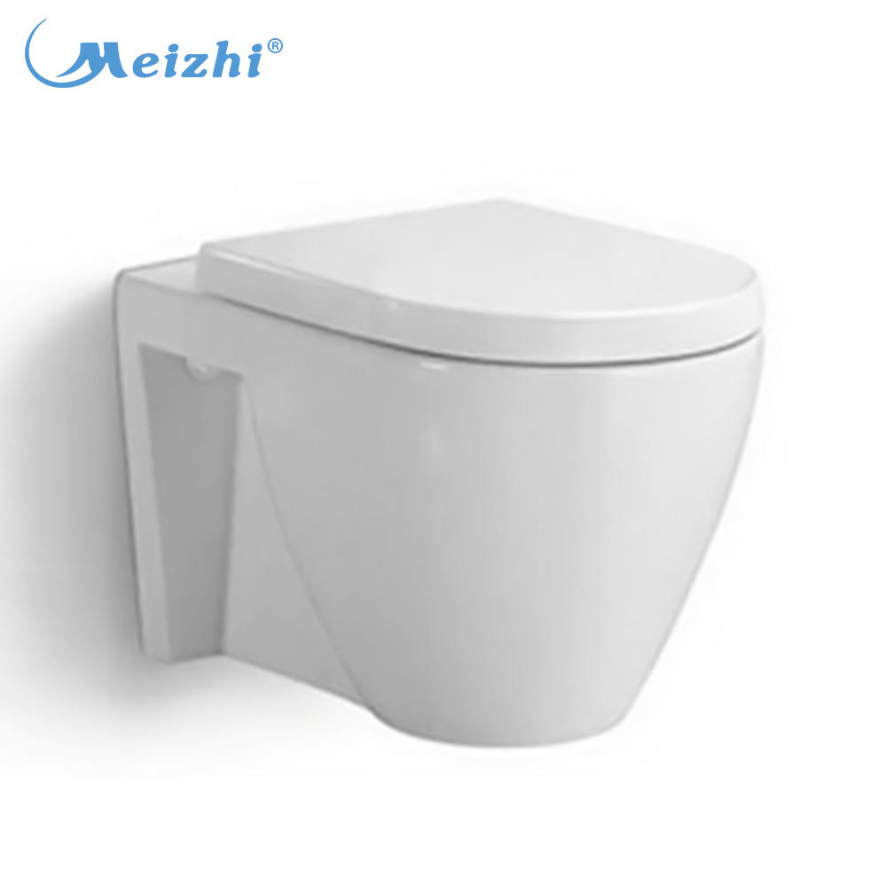 Bathroom design ceramic chinese wall hung suspended toilet