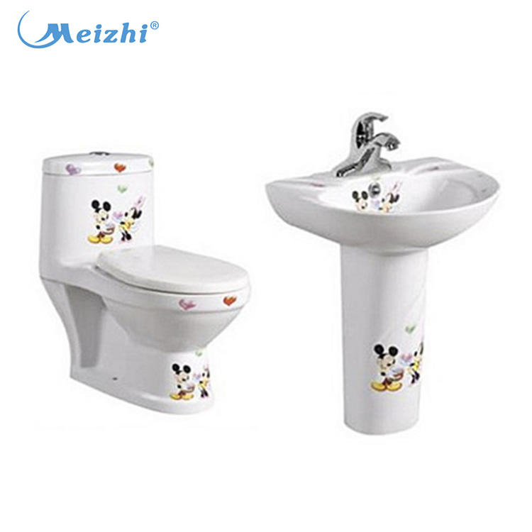 Bathroom toilet set kids toilet bowl made in china