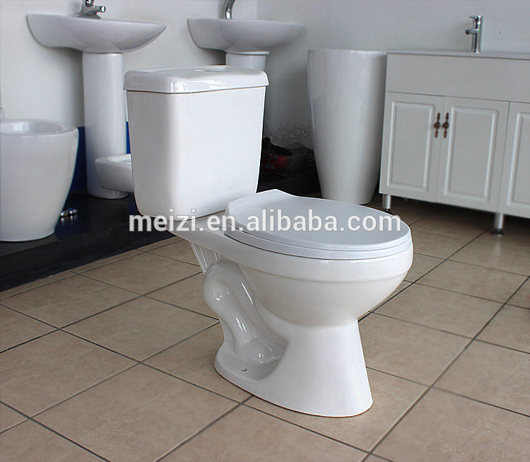 Made in china sanitary ware 2-piece dual flush toilet