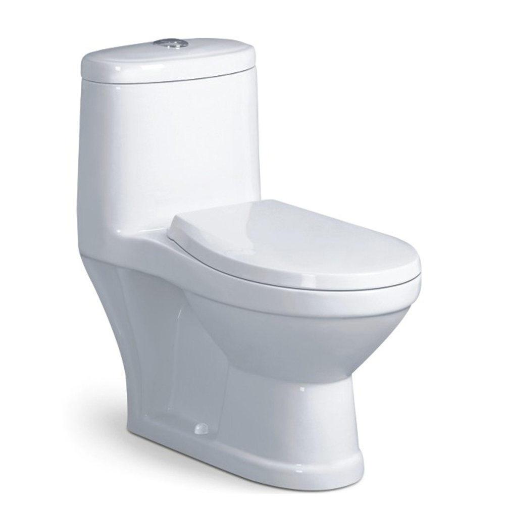 Washdown kindergarten one piece ceramic children size toilet bowl