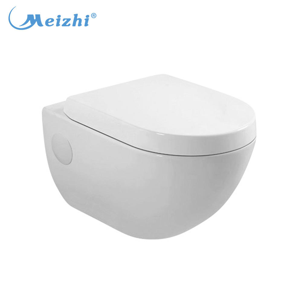 Bathroom accessories ceramic wall hung toilet