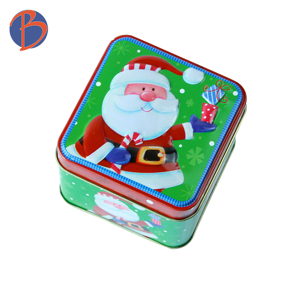 mini candy tin can square tin cookie can