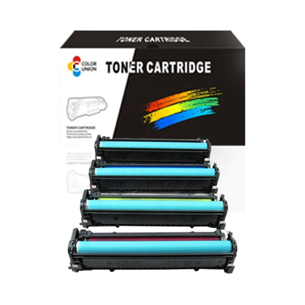 China premium color toner cartridges CB540A 541A 542A 543A 125A for HP CP1210/1215/1217/1510/1514/1515/1517/1518; CM1300/1312; C