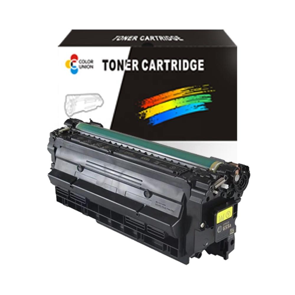 China premium color toner cartridges CF450A 451A 452A 453A 655A for