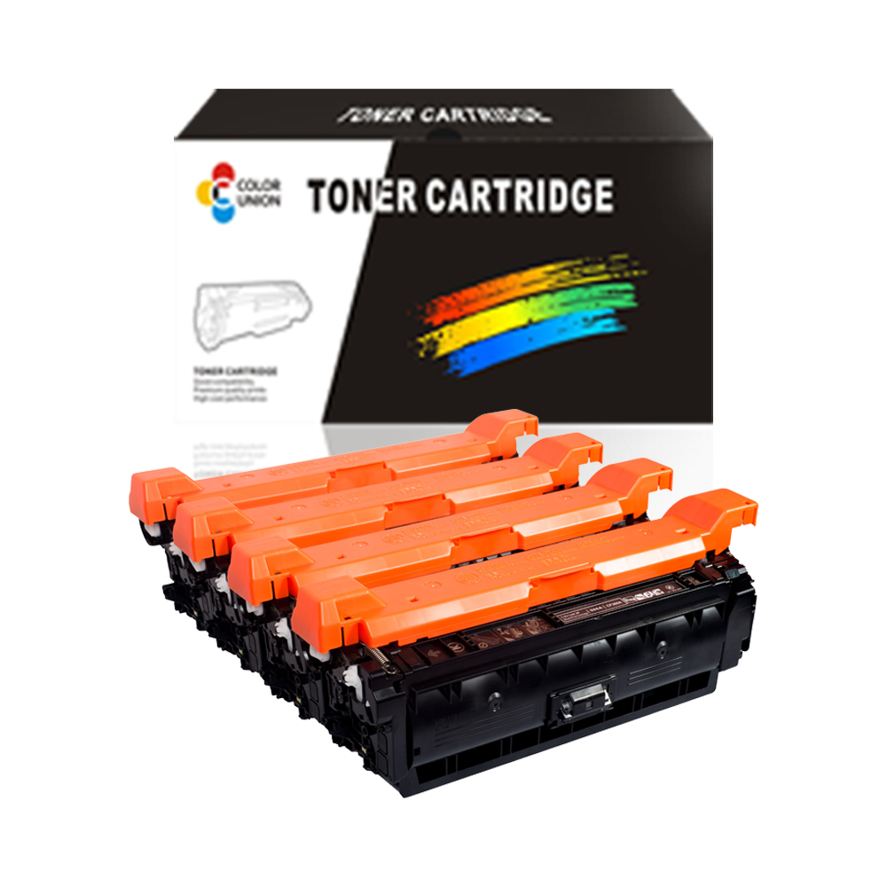 China premium color toner cartridges CF360A 361A 362A 363A 508A for